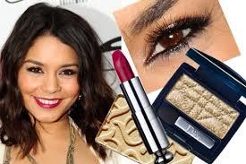 vanessa hudgens golden eye makeup