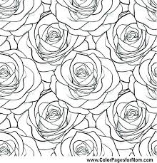 Flowers Coloring Pages For Adults Coloring Book Themes Stampsnowinfo