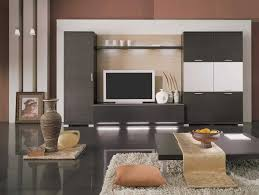 Modern Cabinet Designs For Living Room Modern Design Of A Country House With Black Wall Color Interior