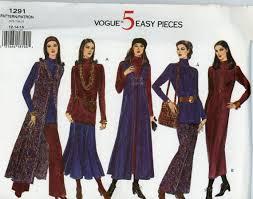 Long Vest Pattern