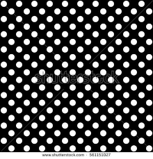 Polka Dot Pattern Delectable Polka Dot Pattern Black White Vector Stock Vector Royalty Free