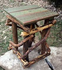 image creative rustic furniture. Rustic Furniture Tall Deadwood Side Table Reclaimed By WoodzYShop, $295.00 Image Creative