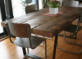 Floor Tables Rustic Dining Room Tables Wingback On Wooden Floor Ideas Square