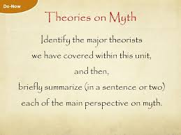 myth essay part world literature mr brennan ppt theories on myth identify the major theorists we have covered in this unit and then