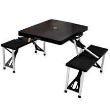 picnic table black