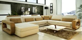 Modern Ideas Latest Sofa Sets Designs Unique Cool Home Interior Decorations  White Golden Pillow Fabric Wooden Stained