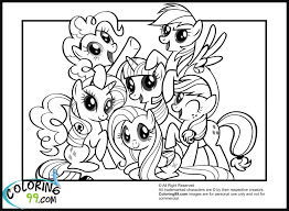 My Little Pony Character Coloring Pages Princess Cadence 3 K And