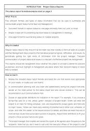 Executive Report Template Short Report Template Word