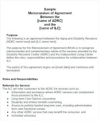 Agreement Between Two Parties Template 31 Sample Agreement