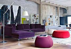 living room with purple sofa contemporary living room with floor lamp and purple sofa decorate your