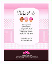 Bake Sale Flyer Template New Stocks 23 Professional Flyer