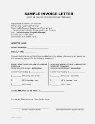 Sample Invoice Letters Simple Guidance For You In Invoice And Resume Template Ideas