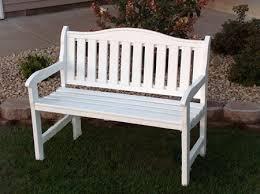 white garden bench. Delighful White Elegant White Wooden Bench Outdoor Gardens Benches For Sale And  On Pinterest Garden R