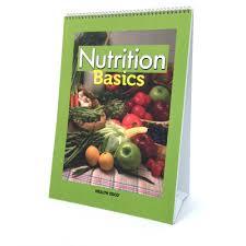 Nutrition Basics Educational Flip Chart Health Edco
