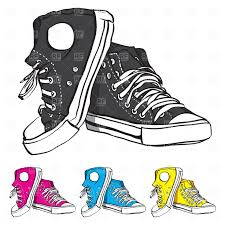 converse shoes black and white clipart. converse clip art | clipart catalog beauty. shoes black and white #