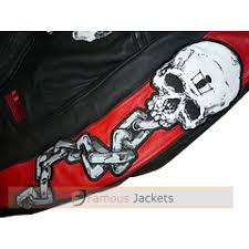 icon motorhead skull mens leather jacket uk