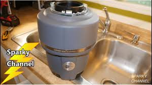 How To Install The Insinkerator Evolution Compact Garbage Disposal