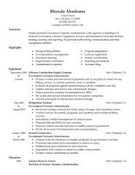 Usa Jobs Example Resume