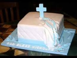 Good Diy Baptism Cake Ideas Youtube