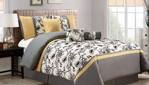 and set yellow sets target striped queen white gray stripe marble comforter outstanding black jcpenney chevron