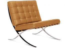 barcelona chair by mies van der rohe platinum replica
