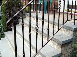 outdoor wrought iron handrails for steps designs