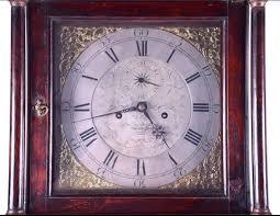 18th century oak longcase clock 1 of 9