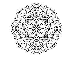 Disegno Di Mandala Alhambra Da Colorare Acolorecom