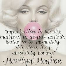 Be Your Own Kind Of Beautiful Quote Marilyn Monroe Best Of 24 Interesting Girls Quotes And Sayings With Images