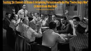 "drama and persuasion mini unit ""twelve angry men"" teaching  12 angry men analysis essay drama and persuasion mini unit twelve angry men teaching"