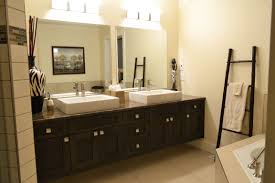 double square floating mirror and white wall l over dark brown within floating bathroom mirror