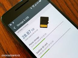 A9 Card Setting Up Adoptable Storage On The Htc One A9 Android Central