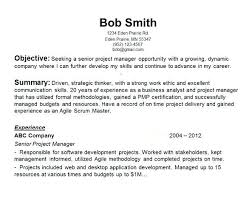 Objective In Resume For Computer Science Objective Resume Samples Resume Sample 28