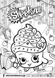 Shopkins Coloring Pages 3 Diy Craft Ideas Gardening Peytons