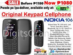 Original Keypad Cellphone Nokia 106 Tft ...