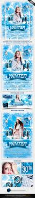 Winter Cold Sensation Flyer Template By Inthesky15 | Graphicriver