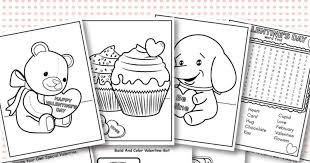 Guide your kid by directing them on which colors to use and where to color. Free Printable Valentine Coloring Pages Activity Sheets For Kids Sunny Day Family