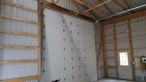How To Build A Wall In Garage Door Opening Garage Designs