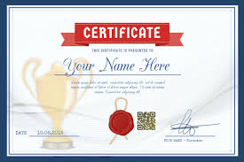Samples Of Awards Certificates Award Certificate Template For Schools And Sport Clubs