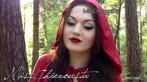 red riding hood costume makeup i