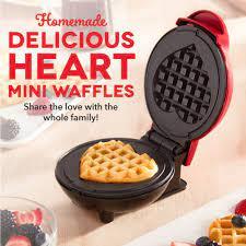 Heart Mini Waffle Maker
