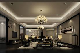 indoor lighting design. Simple Indoor Light Blue Living Room Interior Lighting Design Rendering To Indoor