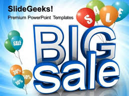 Sell Powerpoint Templates Finance Big Sale Advertising Lifestyle Ppt Template Powerpoint Template