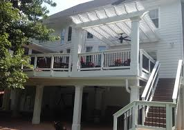 add a pergola over a deck