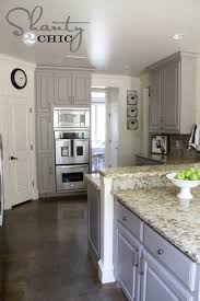 wonderful painting kitchen cabinets grey choosing my battles and a paint color shanty 2 chic