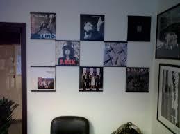 vinyl record wall mount display shelf mounted holder