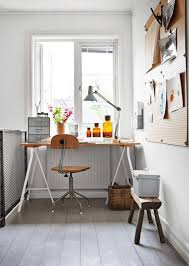 home office work room furniture scandinavian. vintage swivel desk chair in the home office work space of an industrial inspired swedish room furniture scandinavian