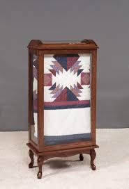 Amish Large Quilt Rack Display Case &  Adamdwight.com