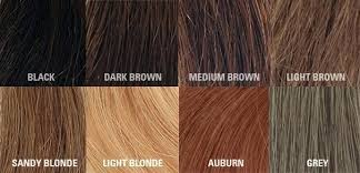 Medium Brown Hair Colour Chart Light Brown Hair Color Chart