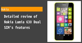 Nokia Lumia 630 Dual SIM ...